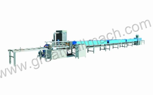 Profile UV coating line